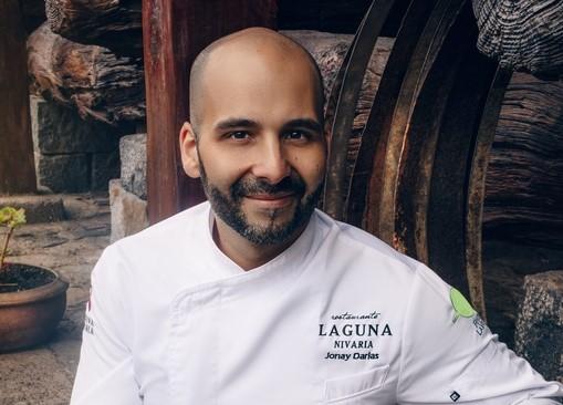 Imagen del chef Jonay Darias