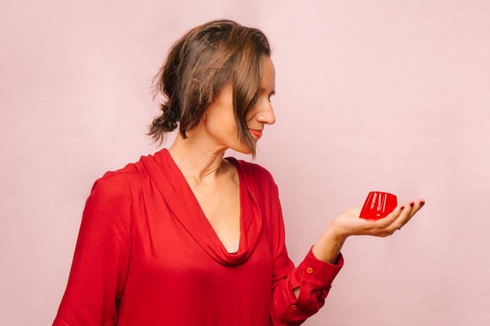 Imagen de Elsa Yranzo, food designer, para le entrevista de simple culinaria