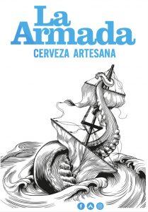 Logotipo de la armada cerveza artesana de Canarias