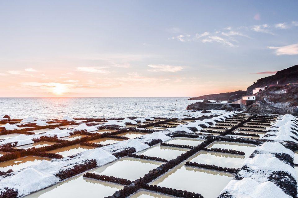 Imagen de las Salinas de Fuencaliente, para el articulo salinas canarias como pasisajes productivos